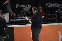 SPEEDSKATING: DORDRECHT: 06-03-2021, ISU World Short Track Speedskating Championships, Gialt Biesma (ISU referee), ©photo Martin de Jong