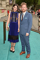 Jessica Raine and husband, Tom Goodman Hill<br /> arrives for the V&A Summer Party 2016, South Kensington, London.<br /> <br /> <br /> ©Ash Knotek  D3135  22/06/2016