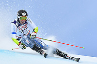 February 17, 2017: Eemeli PIRINEN (FIN) competing in the men's giant slalom event at the FIS Alpine World Ski Championships at St Moritz, Switzerland. Photo Sydney Low