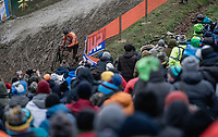 Mathieu Van Der Poel (NED/Corendon Circus) chasing.<br /> <br /> Men Elite Race<br /> UCI CX Worlds 2018<br /> Valkenburg - The Netherlands