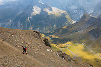 Schilthorn Berneses Alps Switzerland - Climbers & Walkers
