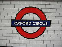 Oxford Circus, Tube Stop