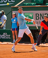 France, Paris, 04.06.2014. Tennis, French Open, Roland Garros, Novak Djokovic (SRB)<br /> Photo:Tennisimages/Henk Koster