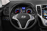Car pictures of steering wheel view of a 2016 Hyundai ix20 Joy 5 Door Mini MPV Steering Wheel