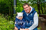 Enjoying the playground in the Killarney National park on Sunday, l to r: Maurice and Réidin Foley.