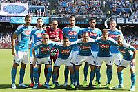 Napoli Team line-up <br /> Napoli 29-9-2019 Stadio San Paolo <br /> Football Serie A 2019/2020 <br /> SSC Napoli - Brescia FC<br /> Photo Cesare Purini / Insidefoto