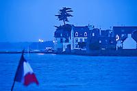 Europe/France/Bretagne/29/Finistère/Loctudy:  Ile Tudy vue à l'aube