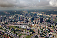 aerial photograph of Fort Worth, Texas