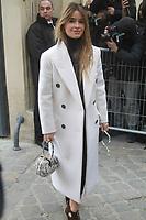Miroslava Duma - ArrivÈes au dÈfilÈ 'Dior' au MusÈe Rodin lors de la Fashion Week de Paris, le 03/03/2017. # LES PEOPLE ARRIVENT AU DEFILE 'DIOR' - FASHION WEEK DE PARIS