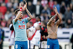 Atletico de Madrid's Saul Niguez celebrates victory during La Liga match. February 16,2019. (ALTERPHOTOS/Alconada)