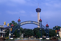 Hemisfair Park, site of the 1968 worlds fair.
