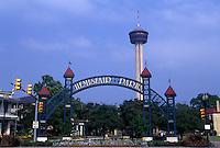 Hemisfair Park, site of the 1968 worlds fair.