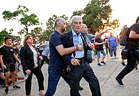 2018 05 19 Mayor Yiannis Boutaris attacked during Pontic genocide commemoration, Greece