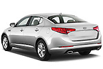 Rear three quarter view of a 2012 Kia Optima