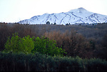 Mount Etna, Sicily, Italy, March 2008.