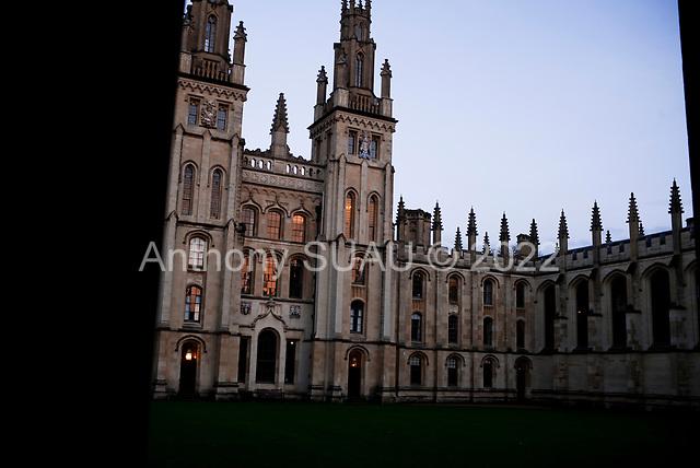 Oxford University<br /> Oxford, United Kingdom<br /> November 28, 2018<br /> <br /> All Souls College.