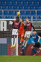 milan-inter - milano 21 febbraio 2021 - 23° giornata Campionato Serie A - nella foto: handanovic su leao e kjaer