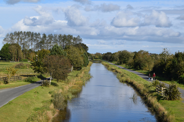 Longford Bridge, Ballymahon in Co Longford on the Royal Canal Greenway