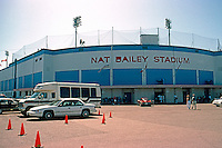 Ballparks: Vancouver, B.C. Nat Bailey Stadium, 1992. July 29, 1992 at Little Mountain Park.