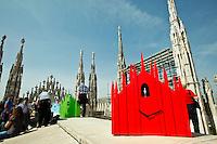 Duomo cuckoo clocks - milan design week