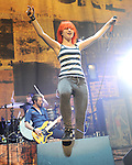 Paramore performs live during their 2009 summer tour  at The Universal Ampitheatre in Universal City, California on July 22,2009                                                                   Copyright 2009 DVS / RockinExposures