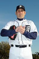 Feb 21, 2009; Lakeland, FL, USA; The Detroit Tigers pitcher Juan Rincon (59) during photoday at Tigertown. Mandatory Credit: Tomasso De Rosa/ Four Seam Images