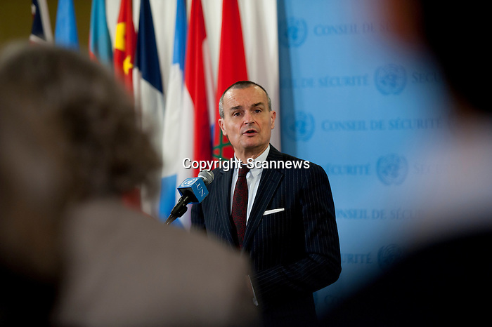 14 Jan 2013 - Informal comments to the media by H. E. Mr. Gérard Araud, Permanent Representative of France to the United Nations, on the situation in Mali. .