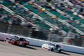 #18: Ryan Preece, Joe Gibbs Racing, Toyota Camry Craftsman #9: Tyler Reddick, JR Motorsports, Chevrolet Camaro BurgerFi