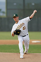 Justin Marks, 2009 AZL Athletics.Photo by:  Bill Mitchell/Four Seam Images.