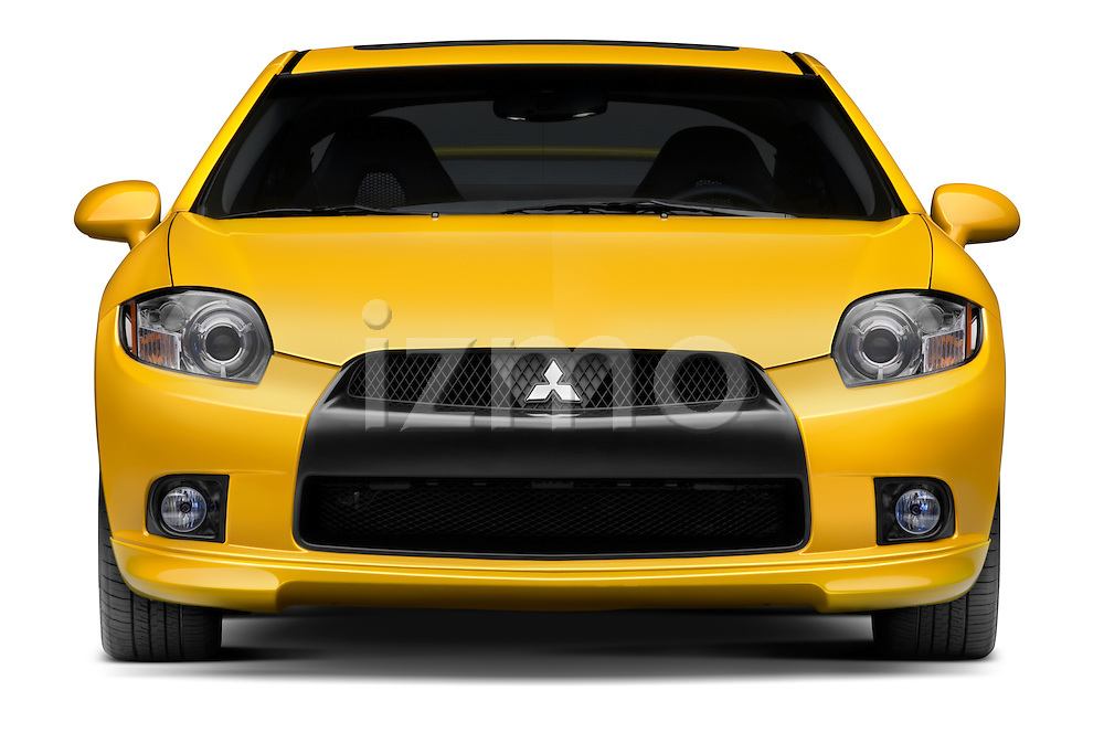 Straight front view of a 2009 Mitsubishi Eclipse GT Coupe
