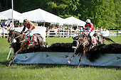 Dance Faster, right, and Embarrassed at the last in the Henry Collins claimer at Radnor