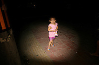 CHINA. Beijing. A young child in the muslim district of Niu Jie. 2008