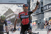 In a sprint with 2 Greg Van Avermaet (BEL/BMC) beats compatriot Jens Keukeleire (BEL/Orica-Scott) to the line<br /> <br /> 79th Gent-Wevelgem 2017 (1.UWT)<br /> 1day race: Deinze › Wevelgem - BEL (249km)