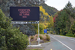 NELSON, NEW ZEALAND - APRIL 9: Covid 19 Lockdown. Thursday 9 April 2020. Nelson,New Zealand. (Photo by Barry Whitnall/Shuttersport Limited)