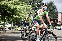 Kevyn Ista (BEL/Bingoal WB)pre race<br /> <br /> Dwars Door Het Hageland 2020<br /> One Day Race: Aarschot – Diest 180km (UCI 1.1)<br /> Bingoal Cycling Cup 2020