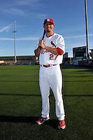 Mar 01, 2010; Jupiter, FL, USA; St. Louis Cardinals  infielder Tyler Greene (27) during  photoday at Roger Dean Stadium. Mandatory Credit: Tomasso De Rosa/ Four Seam Images