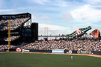 Ballparks: San Francisco Pacific Bell Park--view on left from right field.