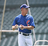 Alan Trammell of the Chicago Cubs vs. the San Diego Padres: June 18th, 2007 at Wrigley Field in Chicago, IL.  Photo copyright Mike Janes Photography 2007.