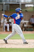 Tomas Telis - AZL Rangers - 2010 Arizona League. .Photo by:  Bill Mitchell/Four Seam Images..