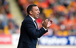 St Johnstone v Dundee United...27.08.11   SPL Week 5.Derek McInnes applauds.Picture by Graeme Hart..Copyright Perthshire Picture Agency.Tel: 01738 623350  Mobile: 07990 594431