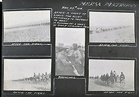 BNPS.co.uk (01202 558833)<br /> Pic: C&T/BNPS<br /> <br /> Aftermath of a 3 day battle in January 1916 with the Senussi tribe.<br /> <br /> Never before seen photos of the disastrous Gallipoli campaign have come to light over a century later.<br /> <br /> The fascinating snaps were taken by Sub Lieutenant Gilbert Speight who served in the Royal Naval Air Service in World War One.<br /> <br /> They feature in his photo album which covers his eventful war, including a later stint in Egypt.<br /> <br /> There are dramatic photos of the Allies landing at X Beach, as well as sobering images of a mass funeral following the death of 17 Brits. Another harrowing image shows bodies lined up in a mass grave.<br /> <br /> The album, which also shows troops during rare moments of relaxation away from the heat of battle, has emerged for sale with C & T Auctions, of Ashford, Kent. It is expected to fetch £1,500.