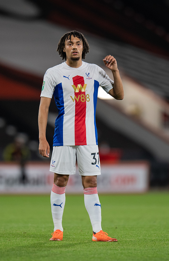 Crystal Palace's Nya Kirby <br /> <br /> Photographer David Horton/CameraSport<br /> <br /> Carabao Cup Second Round Southern Section - Bournemouth v Crystal Palace - Tuesday 15th September 2020 - Vitality Stadium - Bournemouth<br />  <br /> World Copyright © 2020 CameraSport. All rights reserved. 43 Linden Ave. Countesthorpe. Leicester. England. LE8 5PG - Tel: +44 (0) 116 277 4147 - admin@camerasport.com - www.camerasport.com