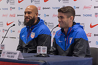 New York City, NY - Tuesday August  29, 2017: The USMNT held a press conference at the New York City FC House.