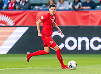 CARSON, CA - FEBRUARY 07: Christine Sinclair #12 of Canada dribbles during a game between Canada and Costa Rica at Dignity Health Sports Park on February 07, 2020 in Carson, California.