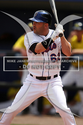 March 21, 2010:  Jesus Feliciano (62) of the New York Mets during a Spring Training game at Tradition Field in St. Lucie, FL.  Photo By Mike Janes/Four Seam Images