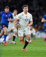 Man of the Match Ben Youngs of England in full flight