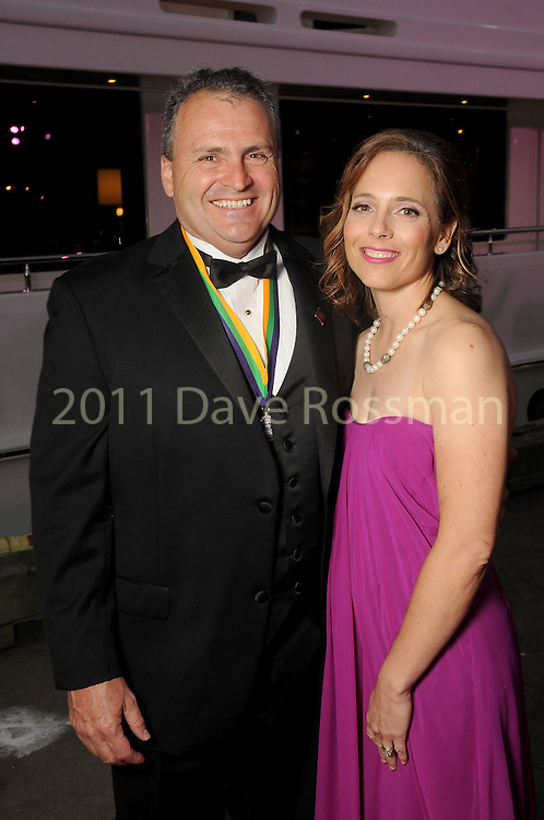"""Kim and Rob Kirschner at the San Luis Salute """"Space Pirates"""" VIP reception Friday February 24,2017. (Dave Rossman Photo)"""