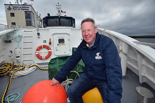 Master of the new Aran island ferry Shane McCole