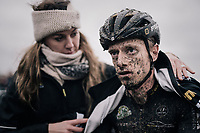 A disappointed Quinten Hermans (BEL/Telenet Fidea Lions) after (only) finishing 11th<br /> <br /> Elite Men's Race<br /> Belgian National CX Championschips<br /> Kruibeke 2019