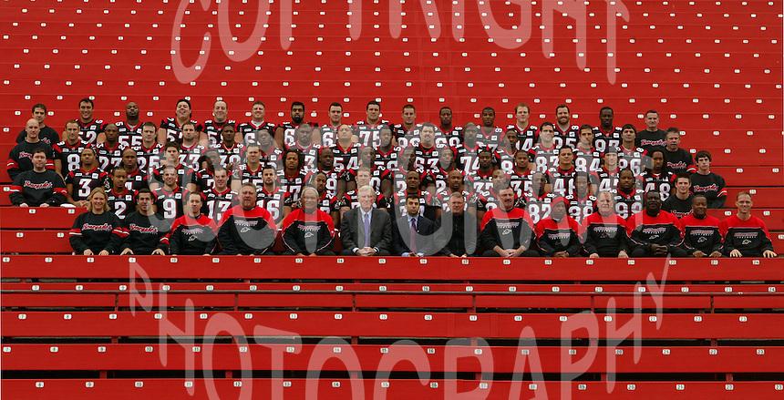 Ottawa Renegades team photo 2005. Copyright Scott Grant